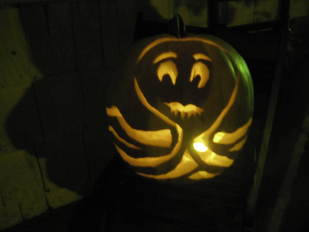 octopus-o-lantern by Skye Gregory